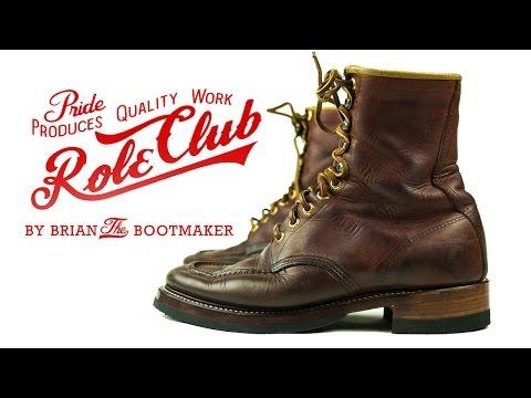 Santa Rosa Moc Toe Boots Resole #16