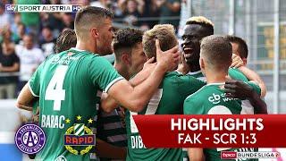 Highlights: tipico Bundesliga, 6. Runde: FK Austria Wien - SK Rapid Wien 1:3