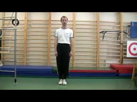 Строевые упражнения - Повороты налево, направо, кругом