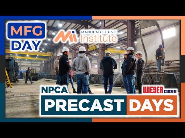 Precast & Manufacturing Days Coming Soon | Wieser Concrete