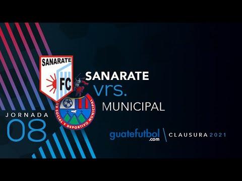 Sanarate 2-1 Municipal: La Máquina le pasa por arriba a los Rojos