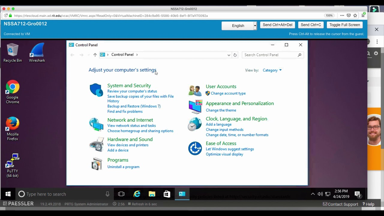 Add Windows 10 to PRTG and Configure SNMP