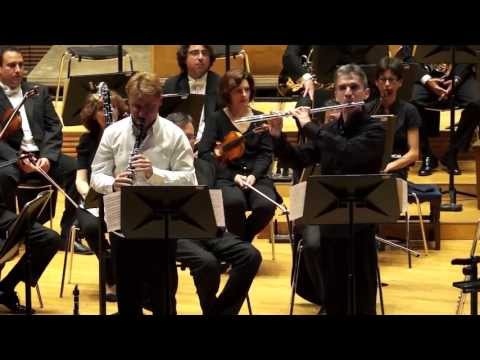 Doble Concierto para Flauta , Clarinete y Orquesta - Jean Françaix