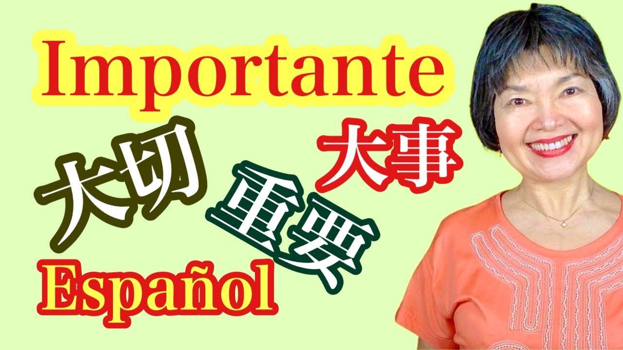 IMPORTANTE❗️Diferencia entre たいせつ❤️ だいじ💜 じゅうよう, Adjetivo13, Vocabulario35, Gramática43