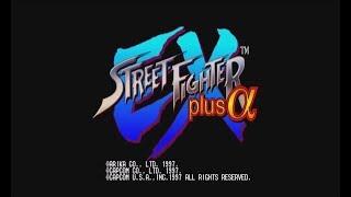 Street Fighter EX Plus Alpha (PSX) - Longplay