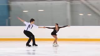 Первенство России в парном катании танц Парное катание KMC Произвольная программа 9 Е БЕЛОВА Д
