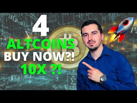 Top 4 Altcoins I'm Buying Now 🚀 |CRYPTO May 2021|Huge Potential 10X ?!| CRYPTO FLASH CRASH?! 🚀|