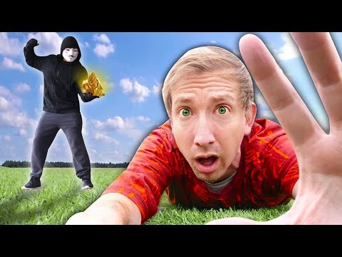 HACKER BATTLES ME on Scavenger Hunt Searching Minerals (Project Zorgo Battle Royale in Real Life) thumbnail