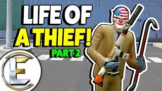 LIFE OF A THIEF ON THE RUN - Gmod DarkRP (Raiding Players Bases They Are REALLY OP!)