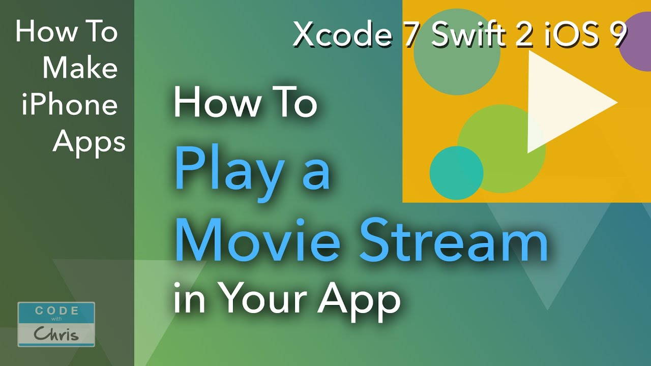 How To Play a Movie Stream using AVPlayerViewController