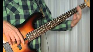 The Simple Minds - Alive And Kicking - Bass Cover