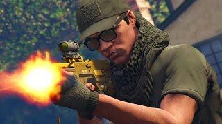 GTA 5 WAR #7 - NEIGHBORHOOD TURNED WARZONE! (GTA V Online)