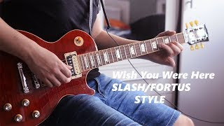 Wish You Were - Pink Floyd (Guitar Cover GN'R Style)