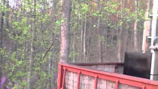 Listen! The Yurt During an April Sunrise