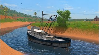 Farming Simulator 17 Mods - Fishing Boat for PC/MAC