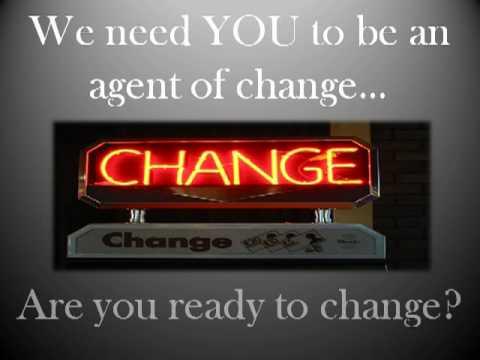 Change agent - Justin Tarte