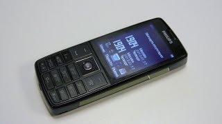 Обзор Philips Xenium X5500