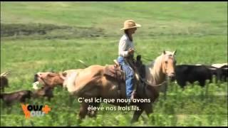 La vie dans un ranch américain