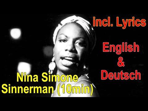 Nina Simone Sinnerman HQ full version with [ Lyrics ] in german english englisch