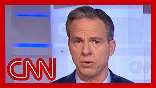 Jake Tapper calls out stunning falsehood from Sanders' campaign