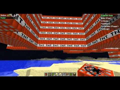 Minecraft ITA:Mega Esplosione Di T.N.T