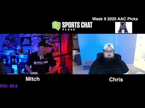 College Football Picks & Predictions AAC Week 9 2020 | Sports Chat Place