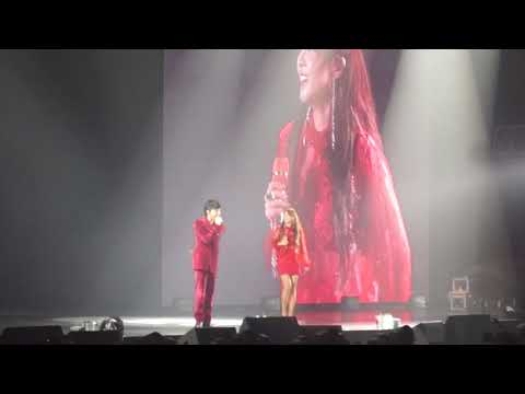 [FANCAM] 170901 G-Dragon and Sandara Park MOTTE in Manila - Missing You, Talk, Hello