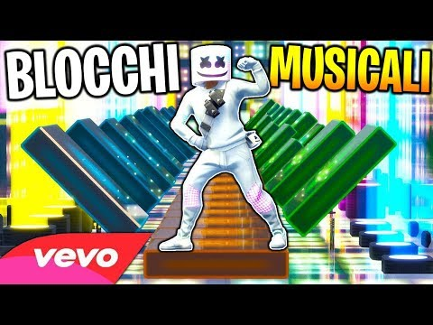 TOP CANZONI RICREATE SU FORTNITE USANDO I MUSIC BLOCKS | FORTNITE ITA