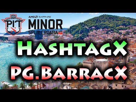 VINZ, BOCAH SD IN DOTA 2 PRO SCENE ! PG.BARRACX VS HASHTAGX -OPEN SEA DOTA PIT MINOR 2019