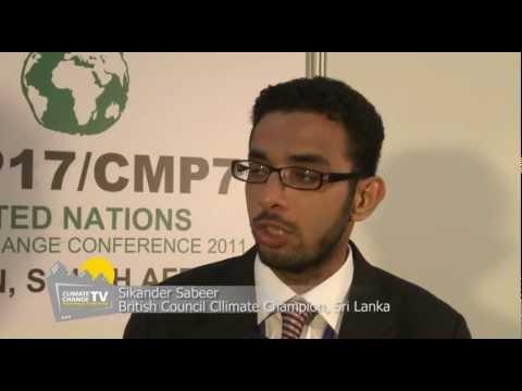 TV Talk Show at UN Climate Change Conference 2011- Durban City, RSA