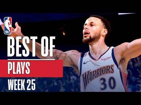 NBA's Best Plays | Week 25 thumbnail