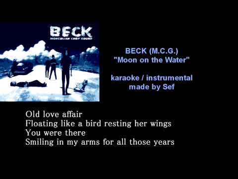 (BECK OST) Dying Breed - Moon On TheWater (karaoke/instrumental)
