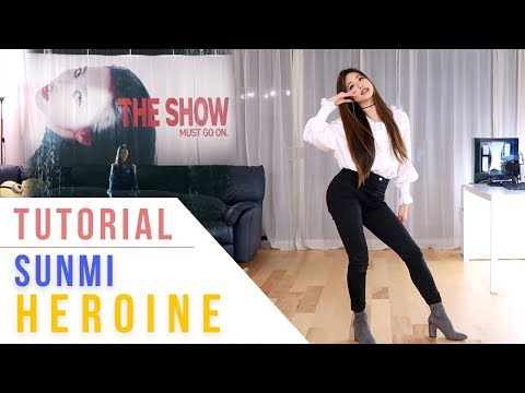 SUNMI (선미) - Heroine (주인공) Dance Tutorial (Mirrored) | Ellen and Brian