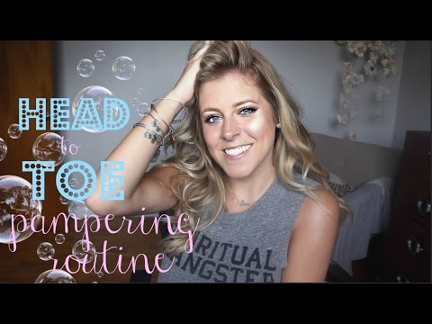 HEAD TO TOE PAMPERING ROUTINE | HALOBEAUTY