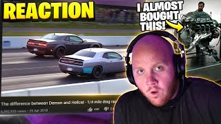 TIMTHETATMAN REACTS TO THE DIFFERENCE BETWEEN A DEMON AND HELLCAT!