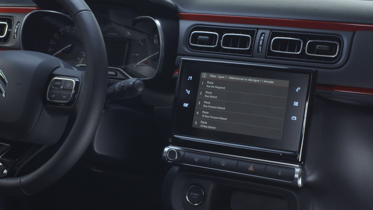 Citroën C3 : Citroën Connect Nav