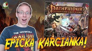 Pathfinder: Rise of the Runelords   Karcianka RPG