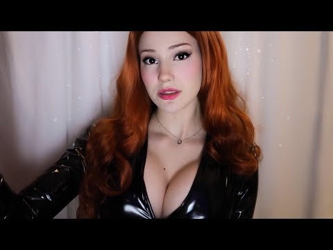 ASMR | Extremely Tingly Latex Gloves and Catsuit 🖤 (scratching, tapping, scrunching, crinkles...)