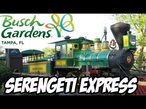 Serengeti Express Railway - Busch Gardens Tampa