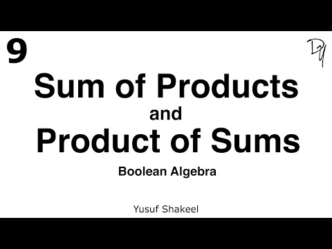 [Full Download] Boolean Algebra Sum Of Products