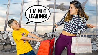 Ferran REFUSES To Go BACK HOME! (BIG PROBLEM) | The Royalty Family