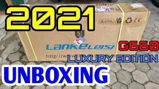 UNBOXING !! E-BIKE LANKELEISI G660 LUXURY EDITION 2021