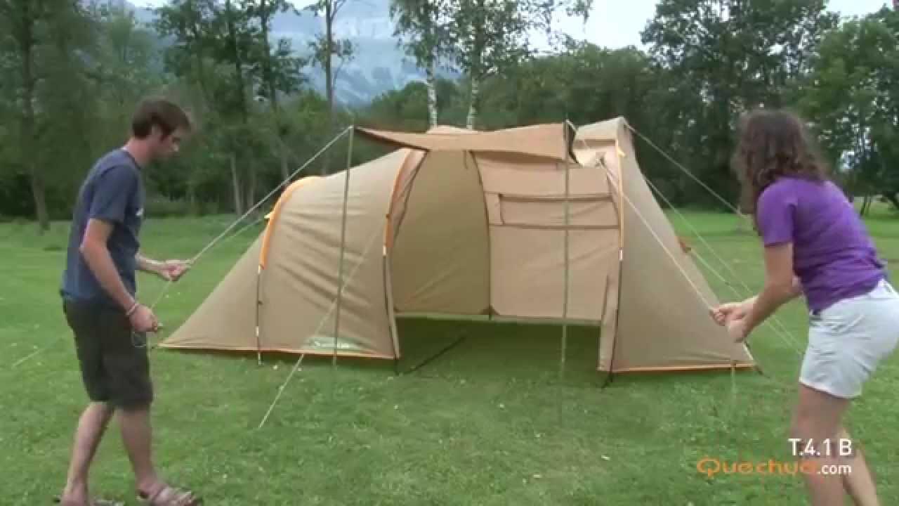 Tente Quechua 41. Quechua Seconds Easy Ii Pop Up Camping ...