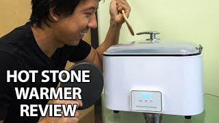 BEST STONE WARMER FOR MASSAGE AND SPA DEMO & REVIEW