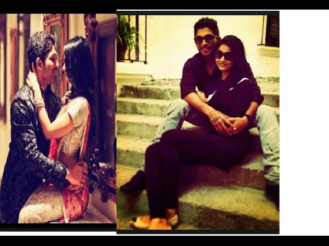 Allu Arjun can't Leave Wife Sneha Reddy...