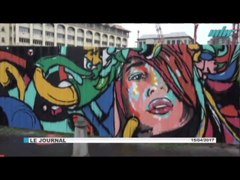 [ MORIS DIME Street Art Together |  JT de Mauritius Broadcasting Corporation ]