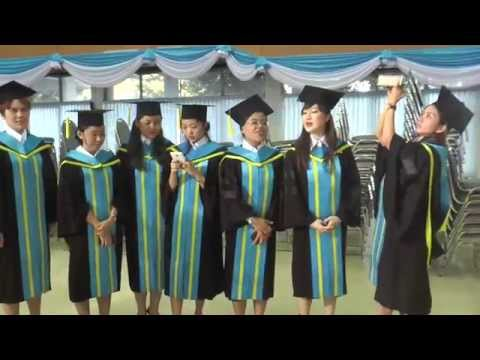 UTCC Global MBA Offshore Program in Myanmar's Commencement Day 2014