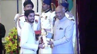 President Kovind confers the Padma Awards at Rashtrapati Bhavan in Phase-1