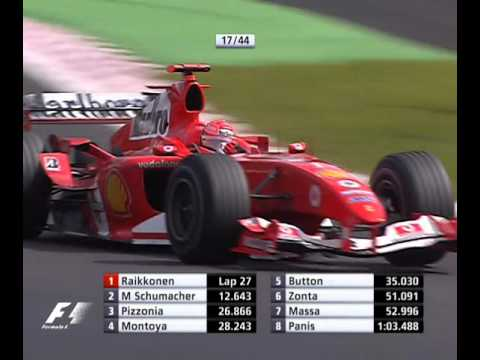F1 Formula One Spa 2004 - Michael Schumacher Hot Lap