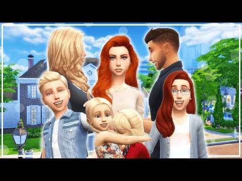 DIVORCE AND UNPLANNED KIDS | The Sims 4 Current Household (August 2017)